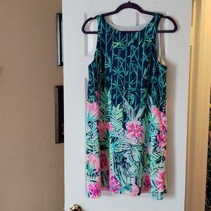Lilly Pulitzer silk dress.